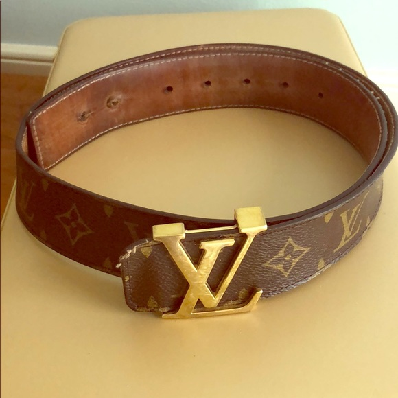 4292c02a89b7 Louis Vuitton Accessories - 100% Guaranteed Authentic Louis Vuitton Belt  Used